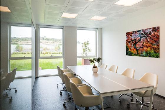 In-Tile Workspace Lighting by Kreon   Suspended ceilings