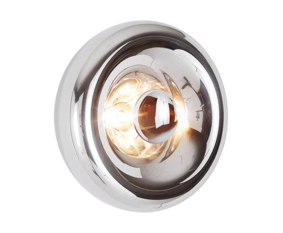 Void Surface Light Steel von Tom Dixon | Wandleuchten