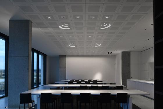 On-Tile Audio von Kreon | Deckeneinbauleuchten