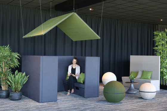 Sofa Silent Group by Götessons | Sound absorbing architectural systems
