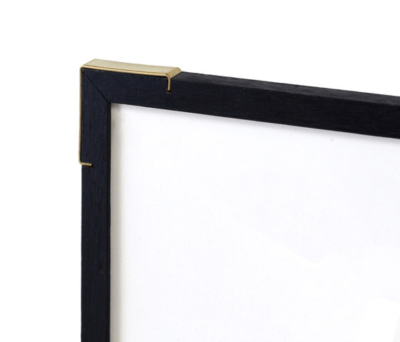 Epaulette 'Black Edition' A3 | brass corners by Vij5 | Picture frames