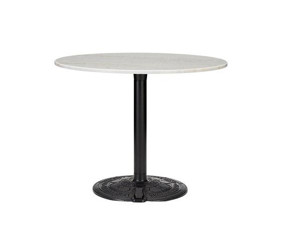 Roll Table White Marble Top 900mm von Tom Dixon | Esstische
