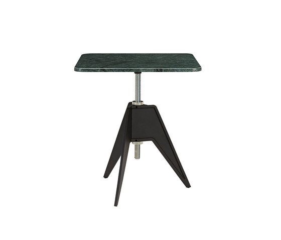 Screw Cafe Table Green Marble Top 650mm by Tom Dixon | Coffee tables