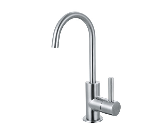 Cold Water Only - Steel by Franke Kitchen Systems   Kitchen taps