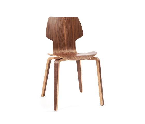Gràcia | madera nogal de Mobles 114 | Sillas multiusos