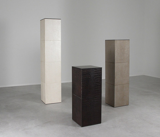 Boca Raton Leather Pedestals Complementary Furniture From Pfeifer Studio Architonic