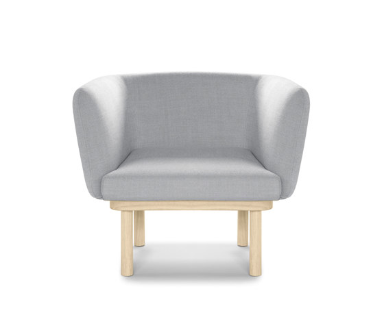 Egon armchair by Alki | Armchairs