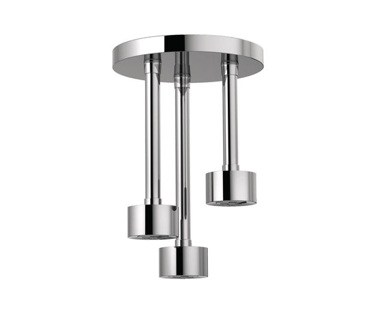 Ceiling Mount Pendant Showerhead by Brizo | Shower controls