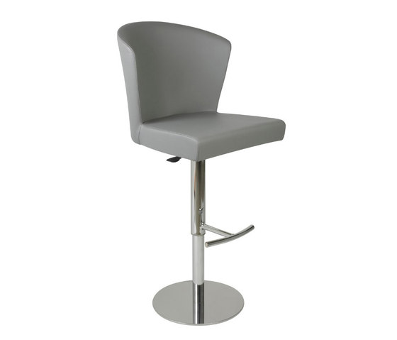Verona Bar Stool, Grey by Oggetti | Bar stools