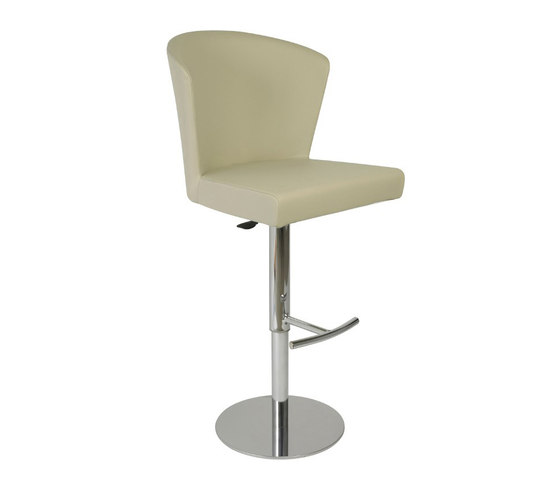 Verona Bar Stool, Taupe by Oggetti | Bar stools