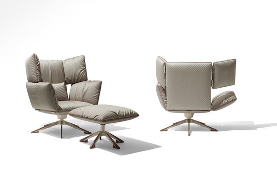 Sahara Wing chair de Giorgetti | Sillones reclinables