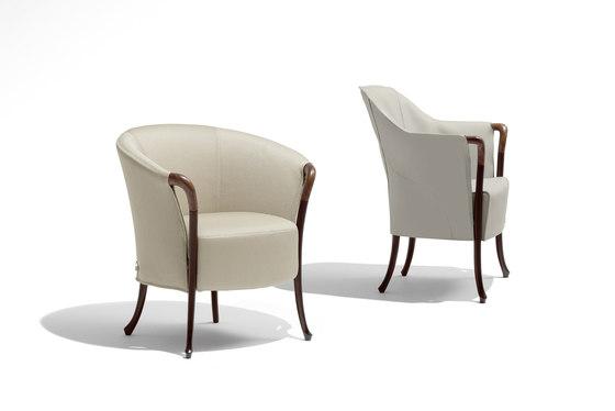 Progetti Sense Armchair von Giorgetti | Loungesessel