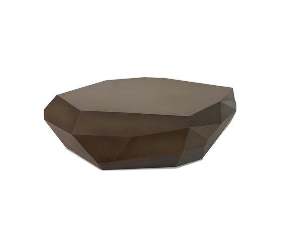 Cubico Cocktail Table, Antique Bronze, Large di Oggetti | Tavolini bassi