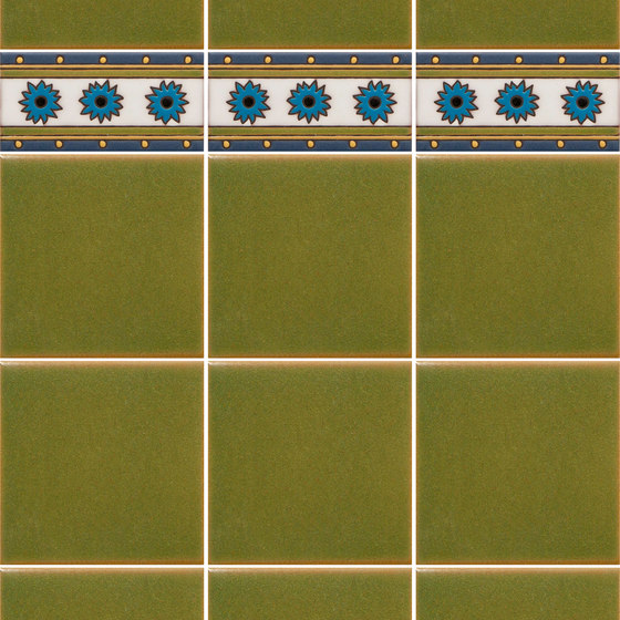 California Revival | Dario Border de Tango Tile | Carrelage céramique