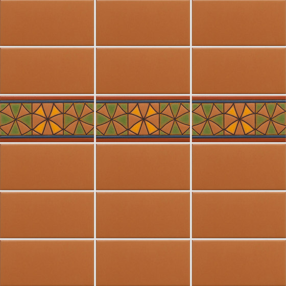 California Revival | Nevarro Border de Tango Tile | Carrelage céramique