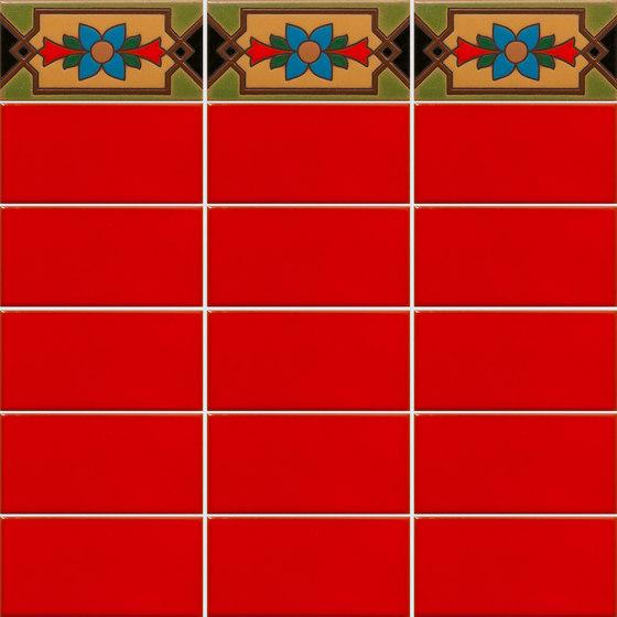 California Revival | Tilcara Border de Tango Tile | Carrelage céramique