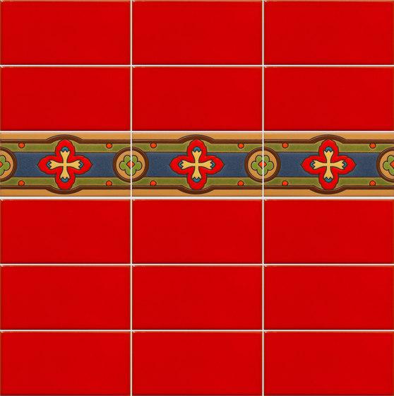 California Revival | Dante Border de Tango Tile | Carrelage céramique