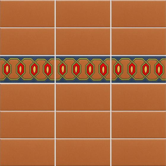 California Revival | Matia Border de Tango Tile | Carrelage céramique