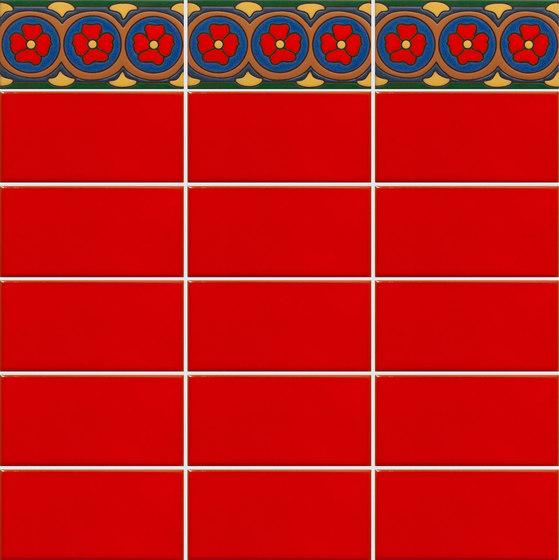 California Revival | Yelina Border de Tango Tile | Carrelage céramique