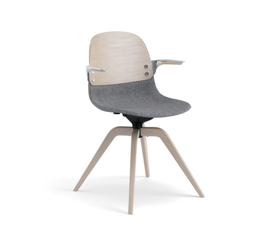 Con III by Fora Form | Visitors chairs / Side chairs