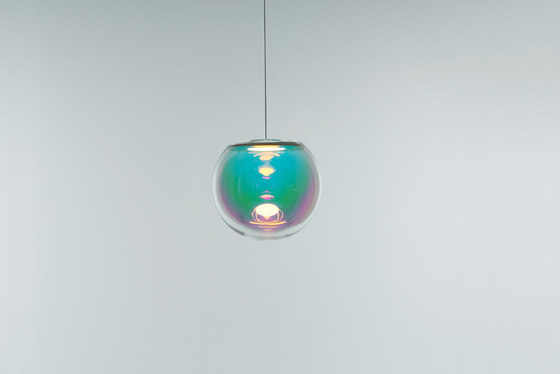 Iris - pink/green 30 by NEO/CRAFT | Suspended lights