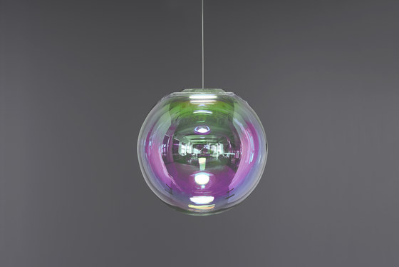 Iris - Pink/Grün 50 von NEO/CRAFT | Pendelleuchten