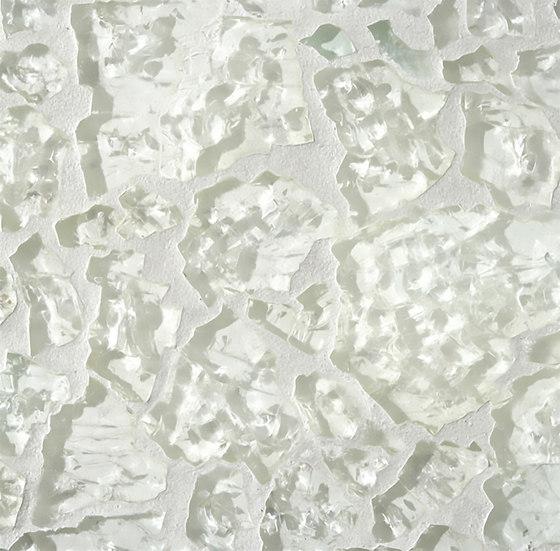 Ellen Blakeley   Winter White - Snow Pearl di Tango Tile   Piastrelle vetro