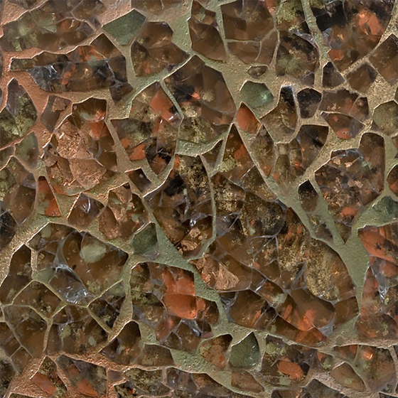 Ellen Blakeley | Core - New Dirt de Tango Tile | Carrelage en verre