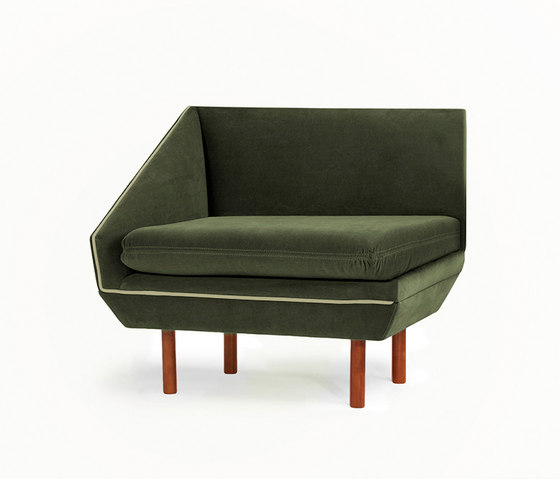 Agnes S Couch von Mambo Unlimited Ideas | Modulare Sitzelemente