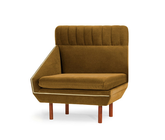 Agnes L Couch by Mambo Unlimited Ideas | Modular seating elements