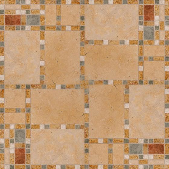 Marble Mosaics | Boogie Woogie Bass de Tango Tile | Baldosas de piedra natural