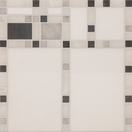 Marble Mosaics | Boogie Woogie Clarinet by Tango Tile | Natural stone tiles