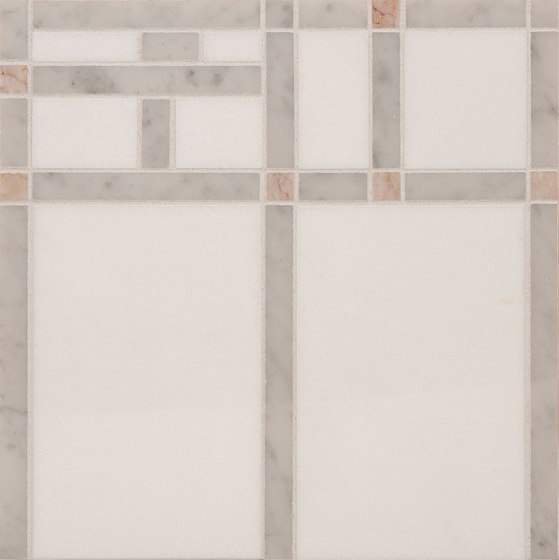 Marble Mosaics   Boogie Woogie 2 Saxophone de Tango Tile   Dalles en pierre naturelle