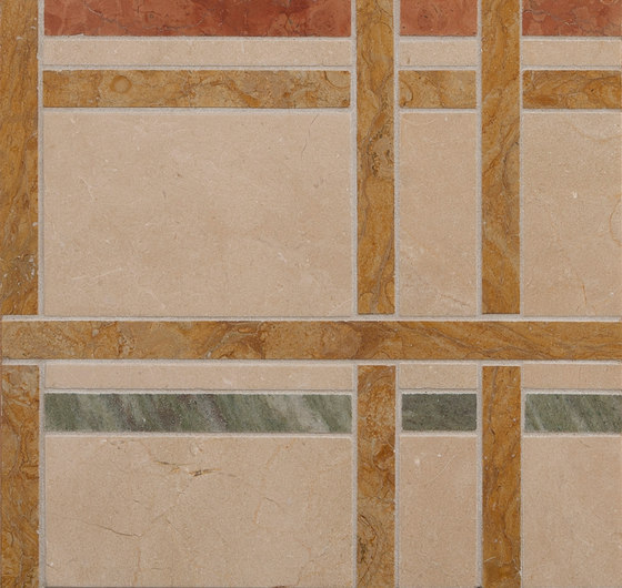 Marble Mosaics | New York Central Park Autumn by Tango Tile | Natural stone tiles