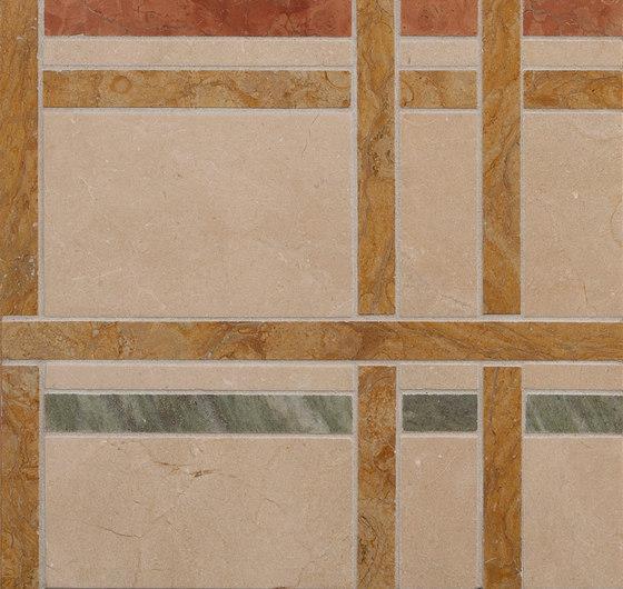 Marble Mosaics | New York Central Park Autumn de Tango Tile | Dalles en pierre naturelle