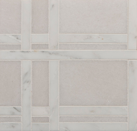Marble Mosaics | New York Central Park Winter by Tango Tile | Natural stone tiles
