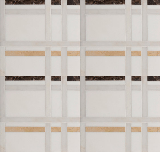 Marble Mosaics | New York Murray Hill de Tango Tile | Dalles en pierre naturelle