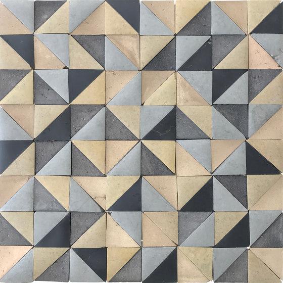 Rurale | Rurale Marble and Porcelain Mosaic in Khaki de Tango Tile | Mosaïques en pierre naturelle