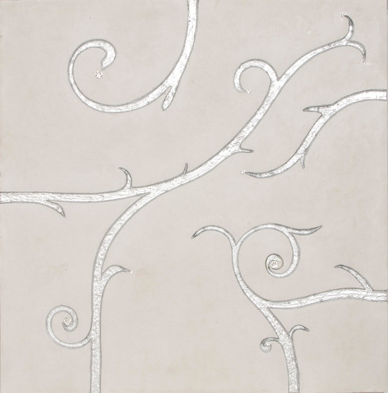 Flamboyant | Marble Tile in white by Tango Tile | Mineral composite tiles