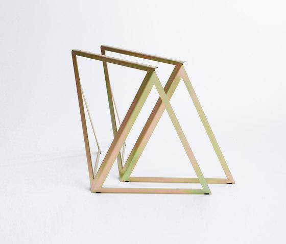 Steel Stand - gold galvanized de NEO/CRAFT | Tréteaux