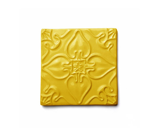 Pattern Yellow Sun by Mambo Unlimited Ideas | Ceramic tiles
