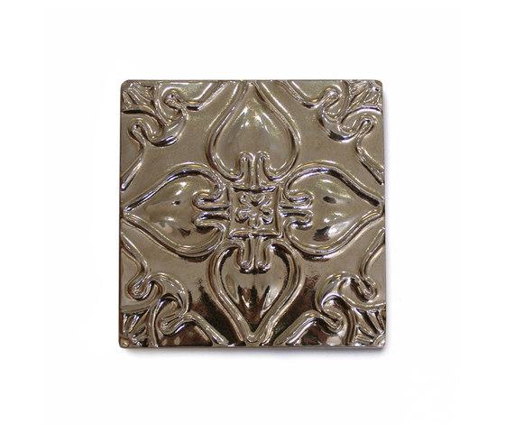 Pattern Tile Gold von Mambo Unlimited Ideas | Keramik Fliesen