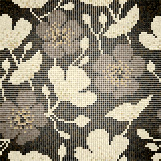 decor blooming sakura beige 15x15 glass mosaics from mosaico architonic. Black Bedroom Furniture Sets. Home Design Ideas