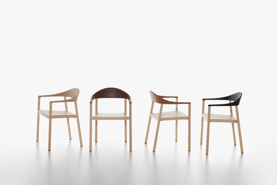 Monza armchair de Plank | Sillas para restaurantes