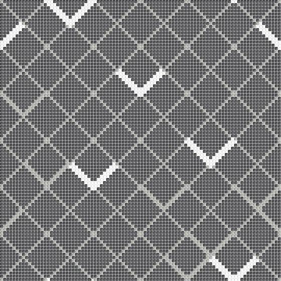 Platy Sign Grey de Mosaico+ | Mosaïques verre
