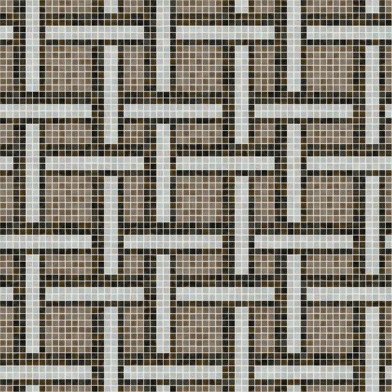 Link Brown de Mosaico+ | Mosaicos de vidrio