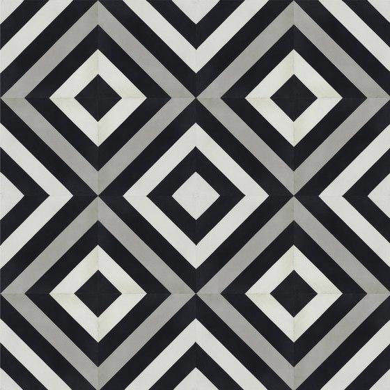 Contemporary   Ligne Brisee de Tango Tile   Dalles de béton