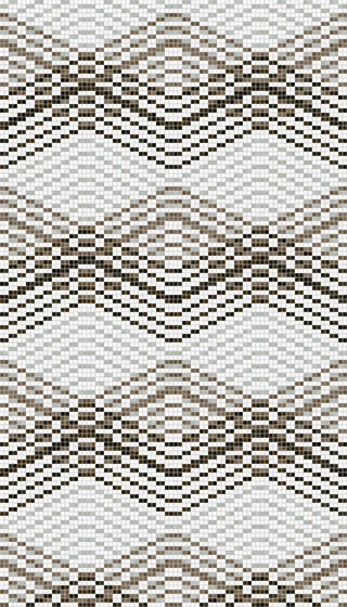 Mellow Taupe by Mosaico+   Glass mosaics
