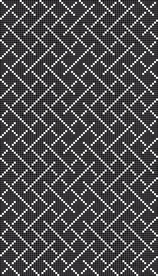 Weaving Black de Mosaico+   Mosaïques verre