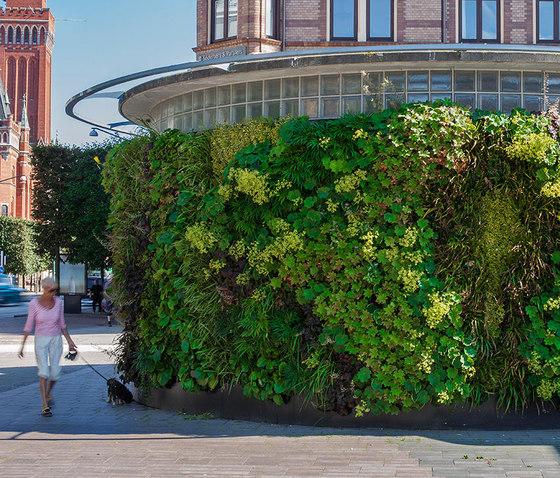 Outdoor Vertical Garden   Phumphuset Helsingborg by Greenworks   Green facades